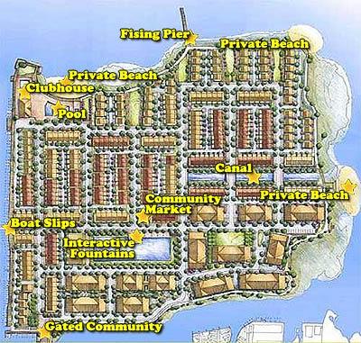 Map Of Sunset Island